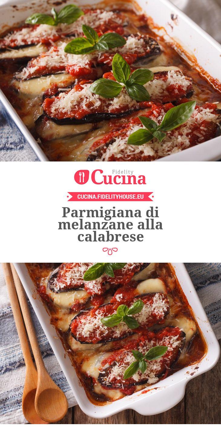 #Parmigiana di #melanzane alla calabrese