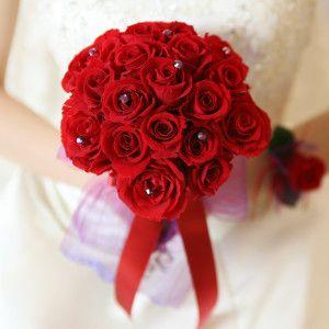 Clutch Red Bouquet N001