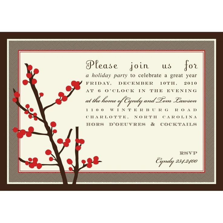 17 best Party invitations images on Pinterest   Holiday party ...
