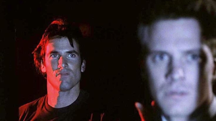 Hart Bochner and Colin Firth in Apartment Zero