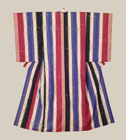 Taisho Banded Kimono, Taisho era (1912-1926). The Kimono Gallery