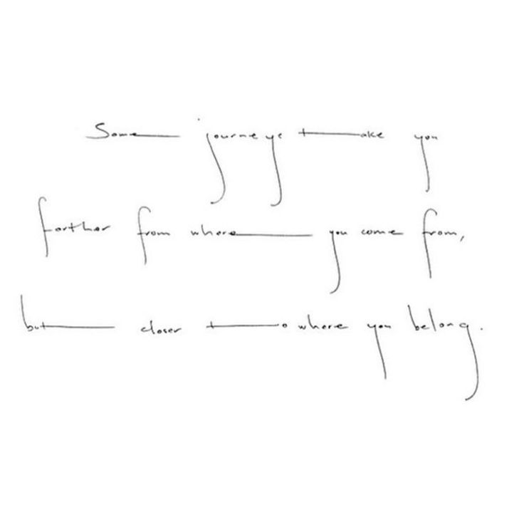 Delicate tattoo writing alphabet