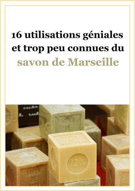 16 utilisations géniales et trop peu connues du savon de Marseille