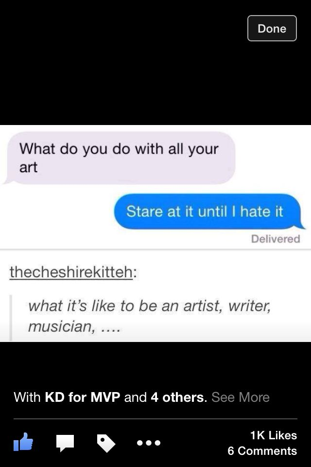 What it's like to be a artist