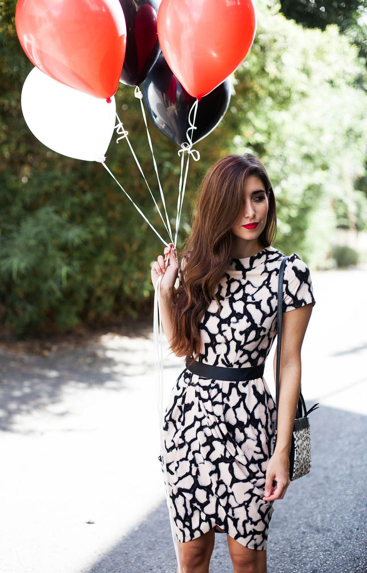 The asos tulip dress in crepe animal print #style #love