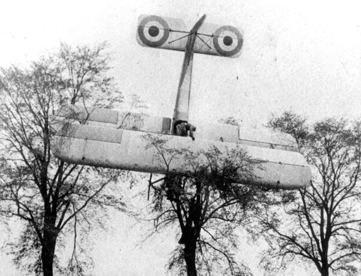 """cgav8r: """"guns-gas-trenches: """"Crash landing """" """"Aviation in itself is not inherently dangerous. But to an even greater degree than the sea, it is terribly unforgiving of any carelessness, incapacity or neglect."""" -Captain A. G. Lamplugh, British..."""