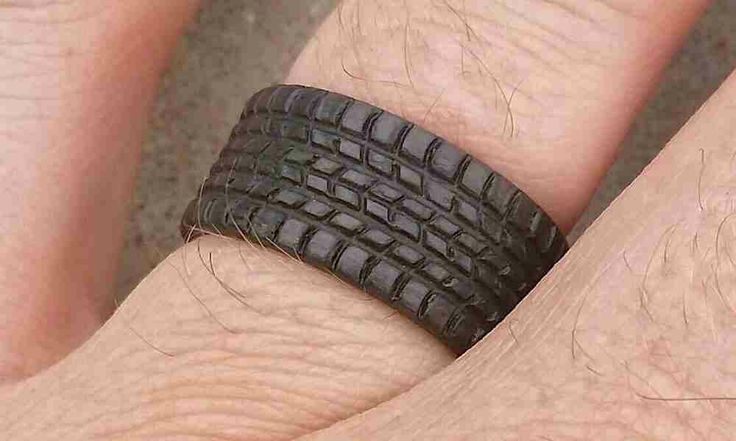 Carbon Fiber Tire Tread Rings