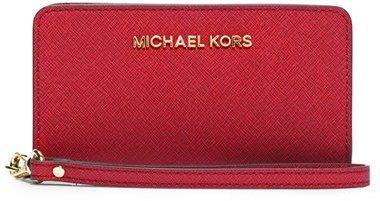 MICHAEL Michael Kors Saffiano Leather Tech Wristlet on shopstyle.com.au