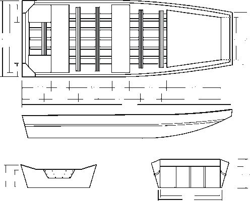 Free Wooden Jon Boat Building Plans | Boat building, Boat ...