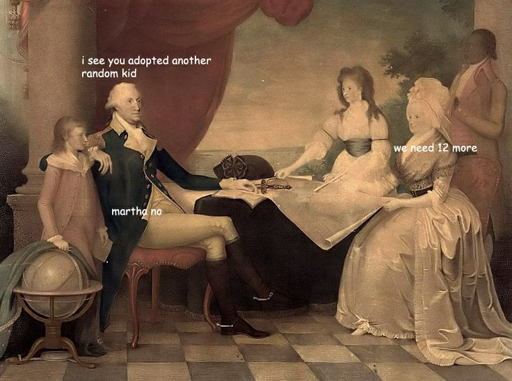 The captioned adventures of George Washington