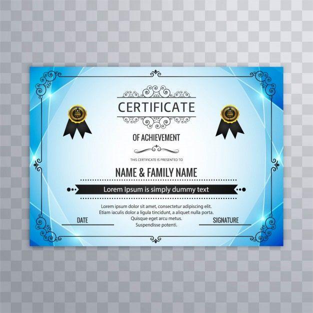 De 25+ bedste idéer inden for Certificate design på Pinterest - certificate designs free