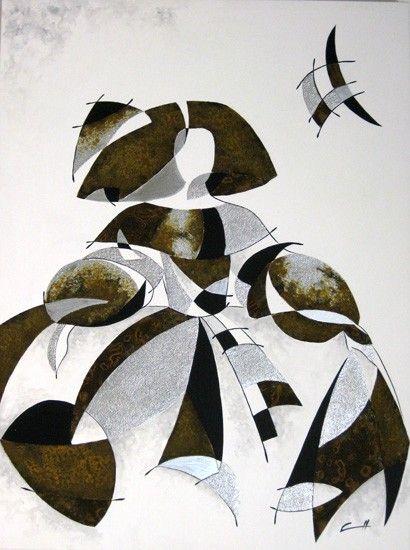 Cuadro Menina Miró II