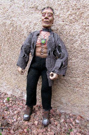 Frankenstein - cactus et figurines jimdo page !