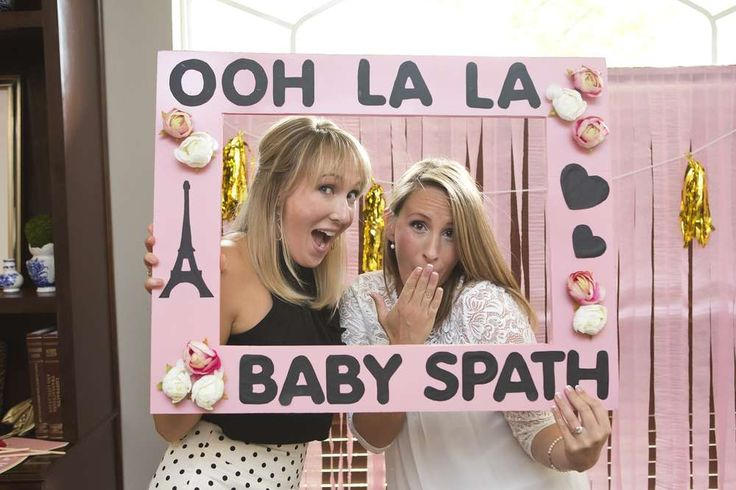 French / Parisian Baby Shower Party Ideas | Photo 3 of 15 | Catch My Party