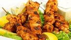 Souvlaki de poulet au paprika