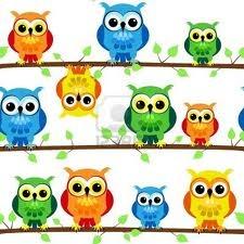 cartoon owls