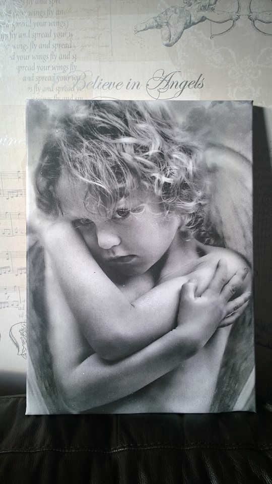 Cherub Boy Diamond Dust Canvas Art available from my ebay page. http://www.ebay.co.uk/sch/violetlovesdiamonds/m.html?_nkw=&_armrs=1&_ipg=&_from=