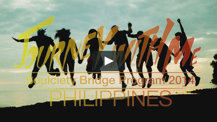 Journey With Me  Join us, Soulciety Mentors, as we embark on a trip to Batangas, Mindoro, Negros, and Bohol of the Philippines Islands to Empower youth through…