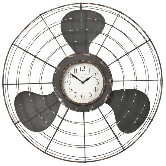 The Earhart Wall Clock from Urban Barn is a unique home décor item. Urban Barn carries a variety of Clocks and other  products furnishings.
