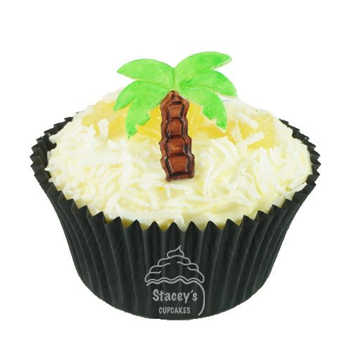 4D Tropical Honeymoon Cupcake by Stacey's Cupcakes www.staceyscupcakes.com.au