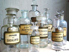 Russell Johnson Imports-Apothecary Jars