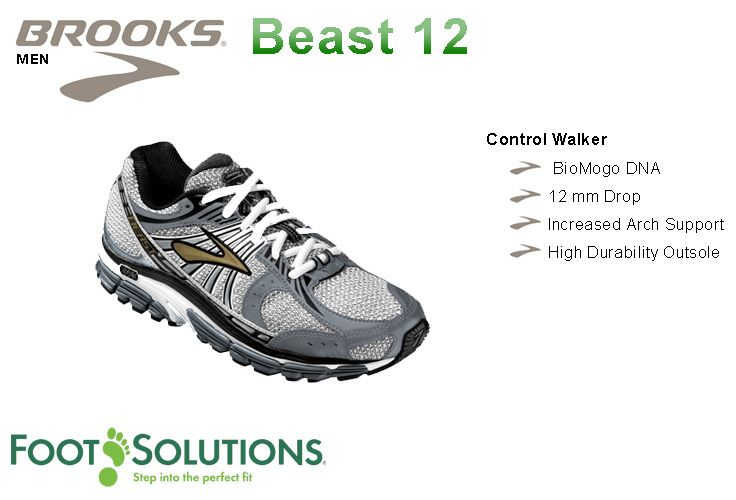 Brooks Beast 12 - Men  //  Arriving Spring 2014