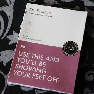 MichelaIsMyName: Dr. Pedicure Foot Exfoliating Mask by Grace & Stel...