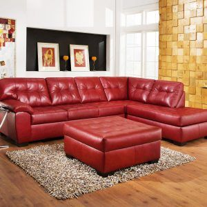 Wonderful Red Sectional Sofa With Ottoman. Decoration Red Sectional Sofa Living Room  Ideas ... Part 7