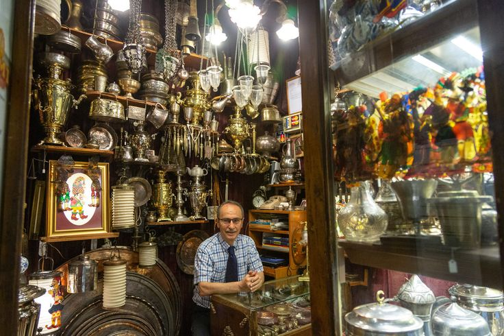 Shopkeepers of Istanbul's Iconic Grand Bazaar
