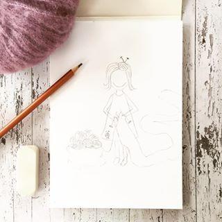 God fredag N mangler bare teksten og farger s dukker snart Strikke Lise opp p et print eller kort