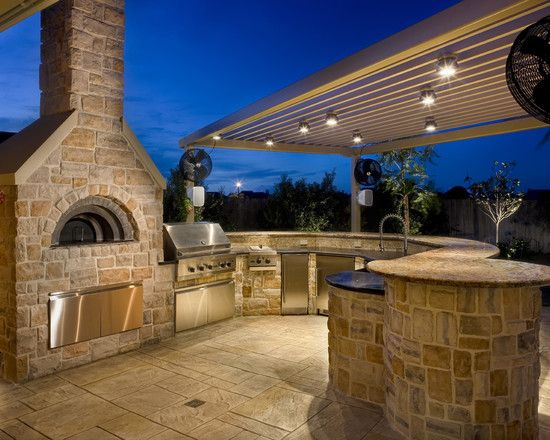Spaces How To Build An Outdoor Pizza Oven Design, Pictures, Remodel, Decor  And Ideas   Page 2