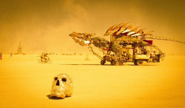 Scenes from Burning Man, shot by Trey Ratcliff