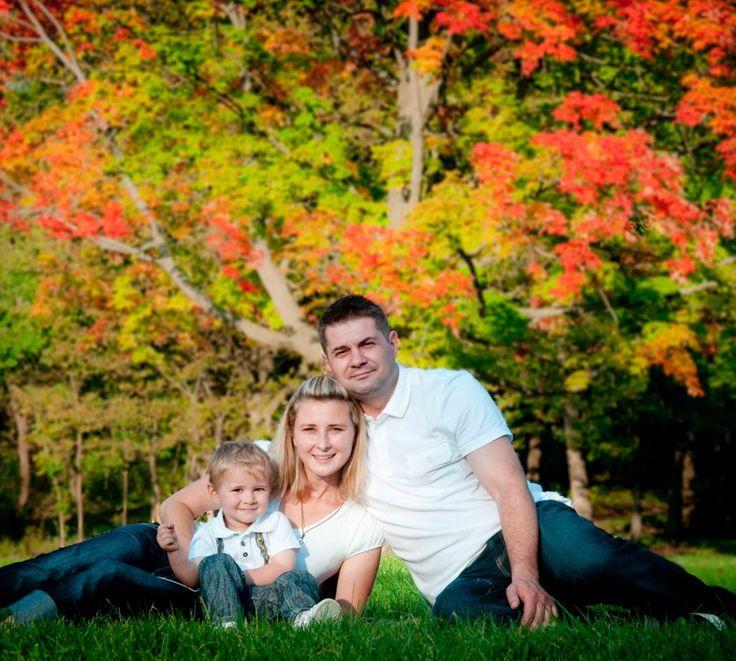 Fall Family Photo - jesienne zdjęcie rodzinne