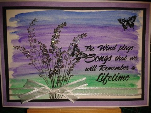 Made by fellow Kaszazz consultant Kerry Thompson inspired by Cheryl Devlin.