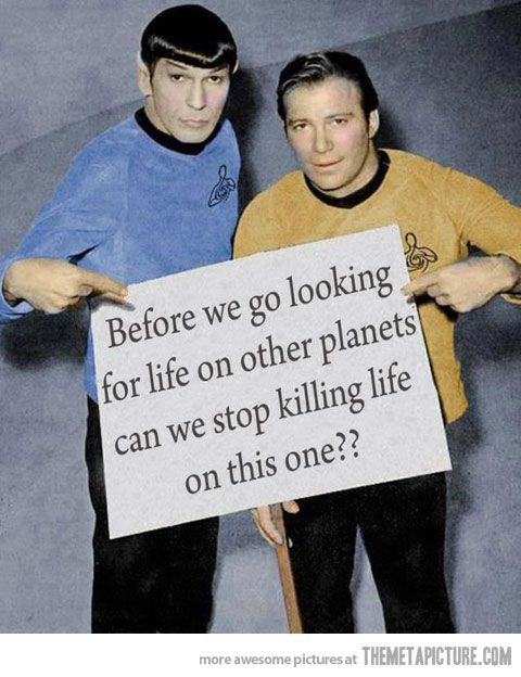Star Trek Message - The Meta Picture