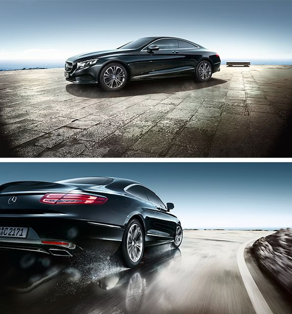One look says it all: The two-door car is given its sensuous nature with the aid of convex and concave surfaces.
