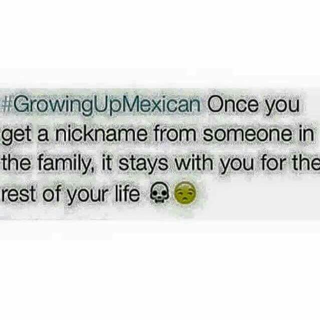 #Growing up Mexican
