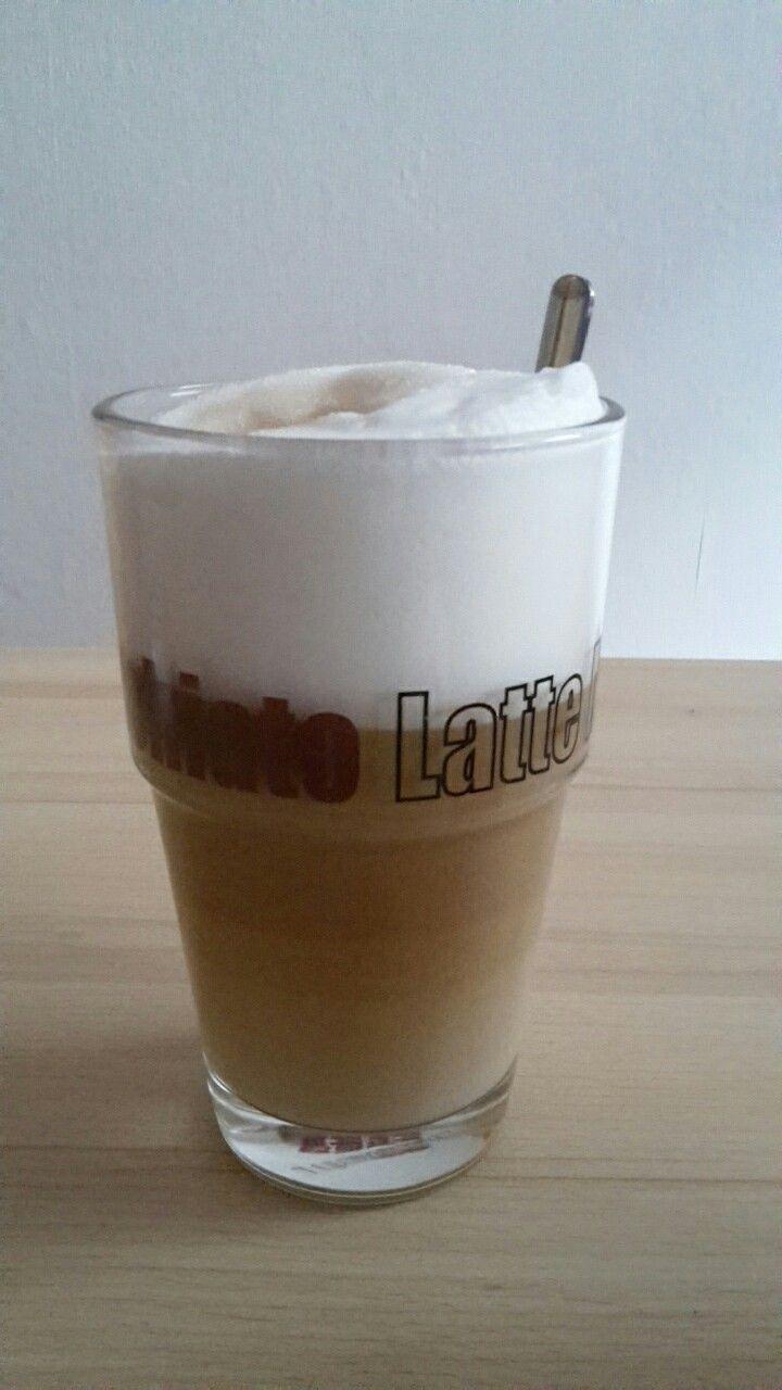 Latte Macciato, Milchschaum