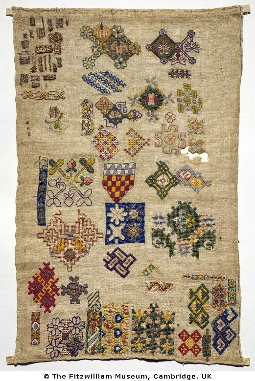 Spot sampler at the Fitzwilliam Museum.  (Exceptional Museum)