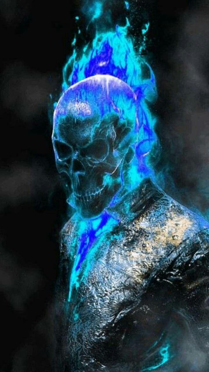 BLUE! MY FAVORITE. 🖖😁💀🐺☮️☠️😏🌴🌴 | Motoqueiro fantasma, Moto ...