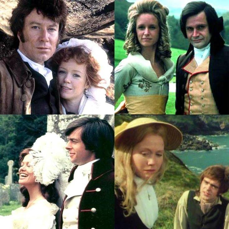 Ross & Demelza, Elizabeth & George, Caroline & Dwight, Morwenna & Drake - Poldark [1975-1977]