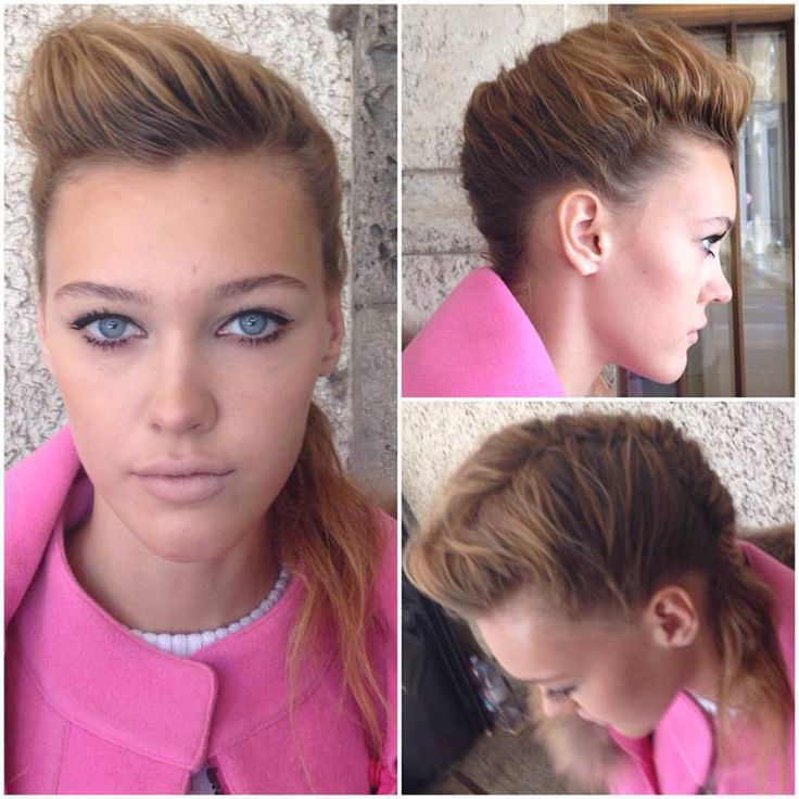 Modern french twist, makeup & hair by Elisa Rampi