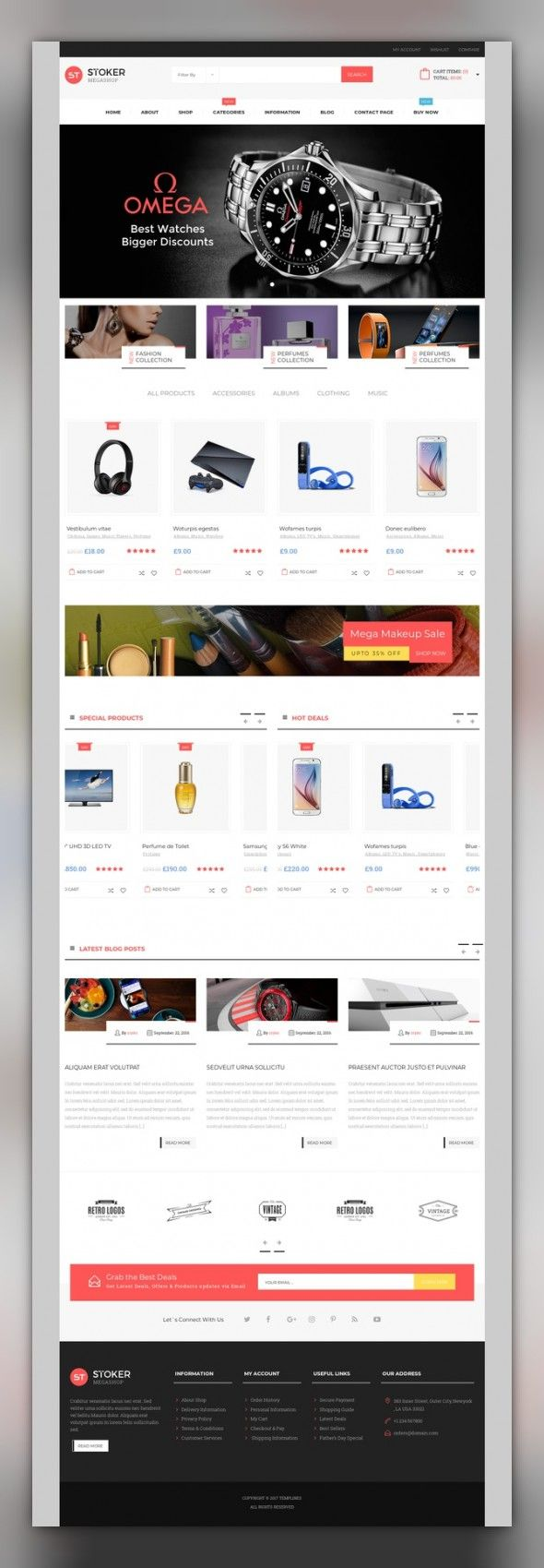 Stoker - Market WooCommerce Theme E-commerce Templates, WooCommerce Themes, Fashion & Beauty, Fashion Templates, Shoe Store Templates Descriptions:Stoker Mega Shop is an WooCommerce theme for any kind of online shop / store to sell products. Its clean, modern and multipurpose design also suitable for any kind of onlin...