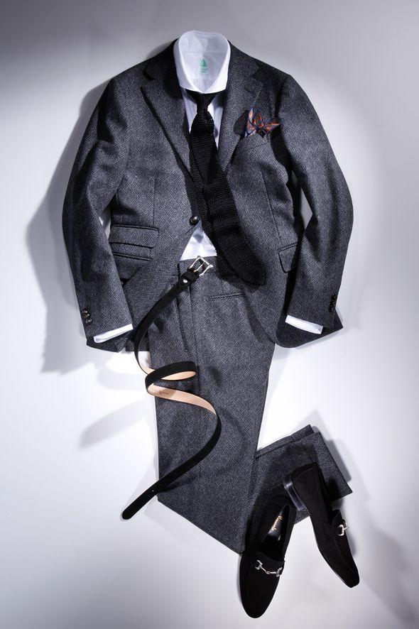 Kinloch pocket handkerchief, full winter 2014-2015 #stylish #fashion #men
