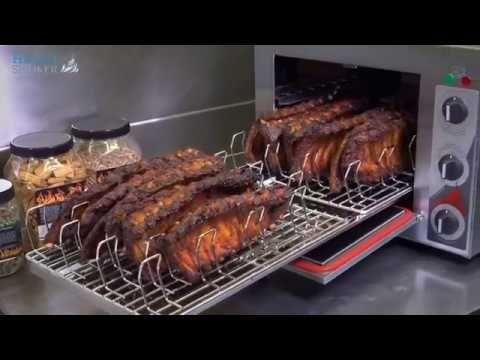 Φούρνοι καπνίσματος helia smoker smoked ribs καπνιστά λουκάνικα καπνιστό χοιρινό καπνίζει με ειδικό πριονίδι καπνισματος Σκοπελίτης 210-2831035