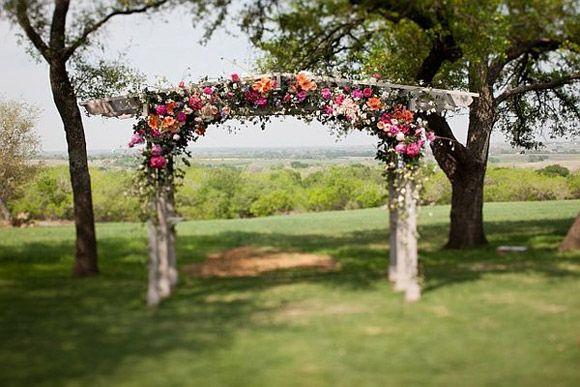Celebrar la boda al aire libre