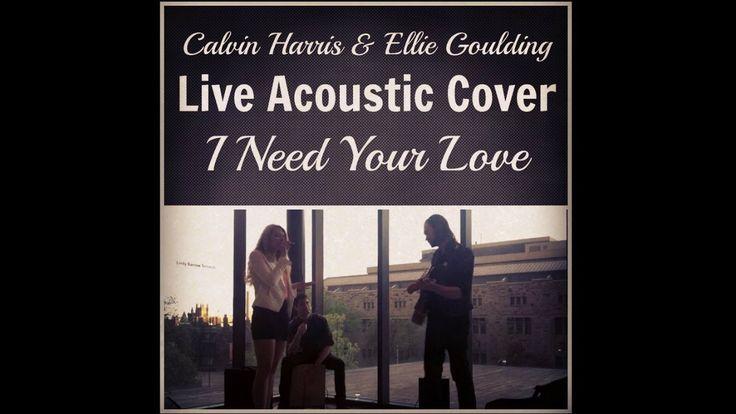 Calvin Harris & El... Calvin Harris I Need Your Love Album Cover