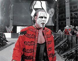 STING — 19960819: Sting's entrance: WWE Night of...