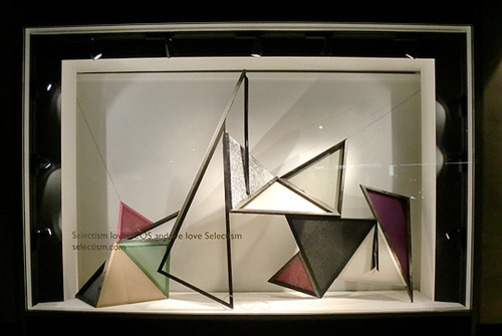 COS window display - colours