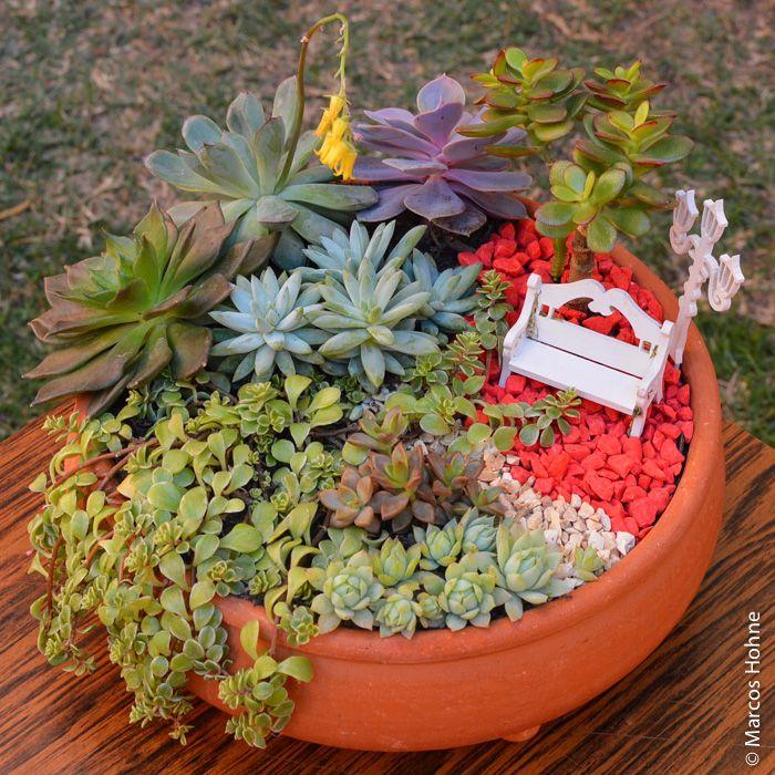 Tenho procurado miniaturas para meus vasos e arranjos, porque elas realmente ajudam a compor o cenário dos jardins em miniatura – além de torná-los muito mais interessantes e delicados. Ah! E…